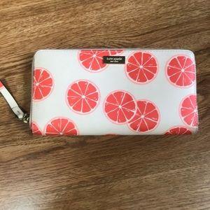 Kate Spade Grapefruit Wallet